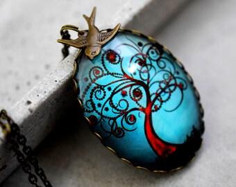 Tree of Blessings Vintage Necklace (VIK-18)