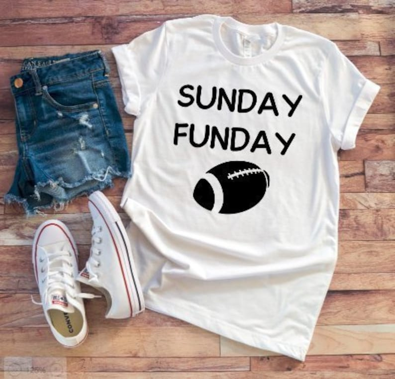 073b285d3d3f Sunday Funday Football Men s and Women s White