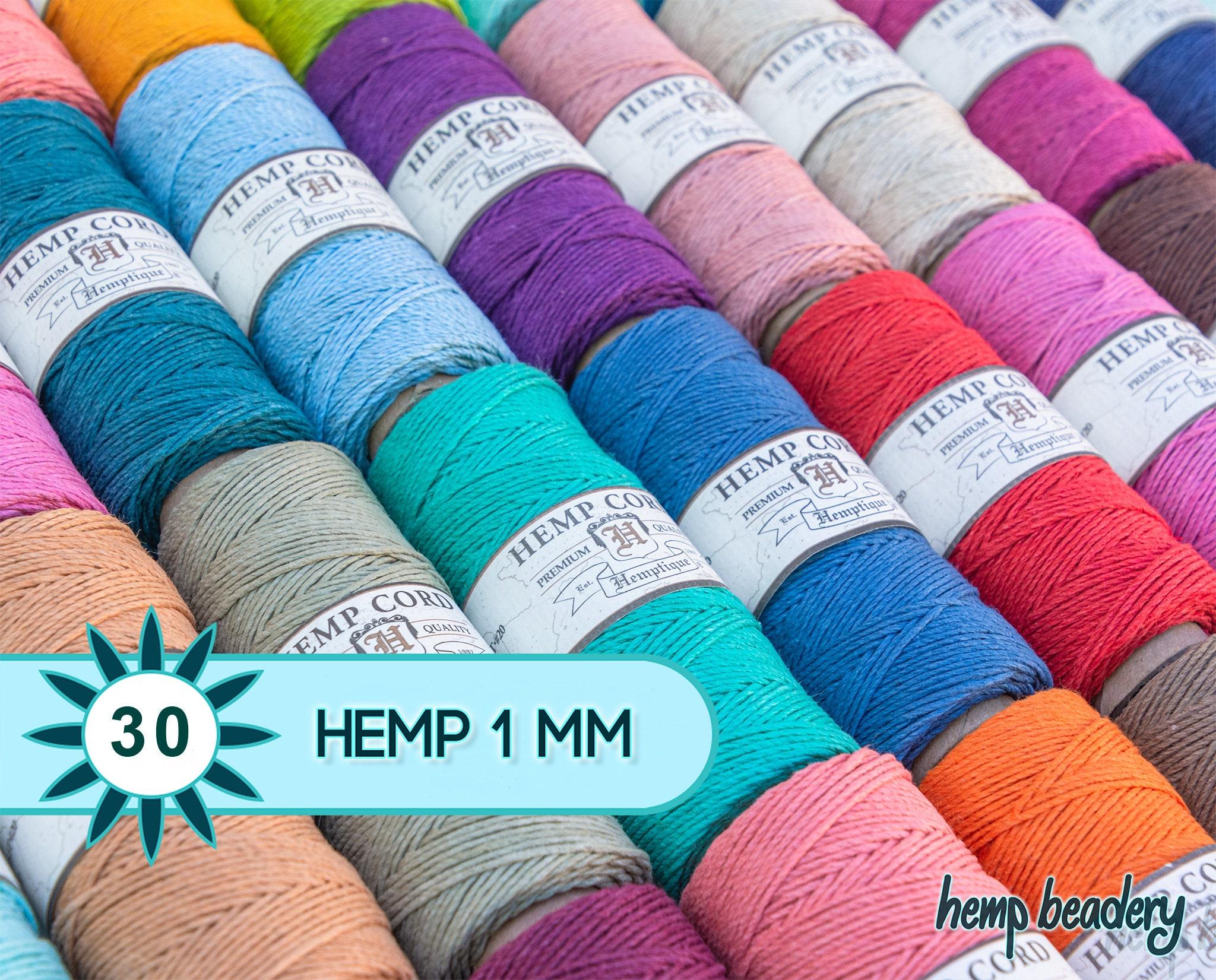 Hemp Cord Spool 20lb 205/'-cappuccino