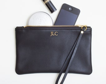 Tribal Genuine Leather Smartphone Wrist Wallet Personalized