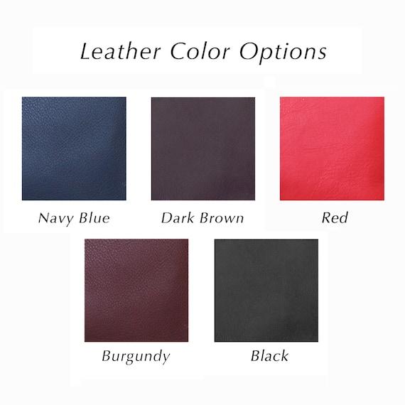 Navy Leather Kiss Lock Shoulder Bag, Crossbody Frame Bag, Retro Style Kiss Lock Handbag, Vintage Style Purse