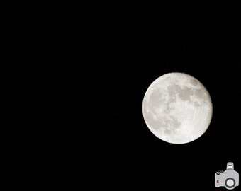 Dark Side of the Moon - 8x10 Photograph