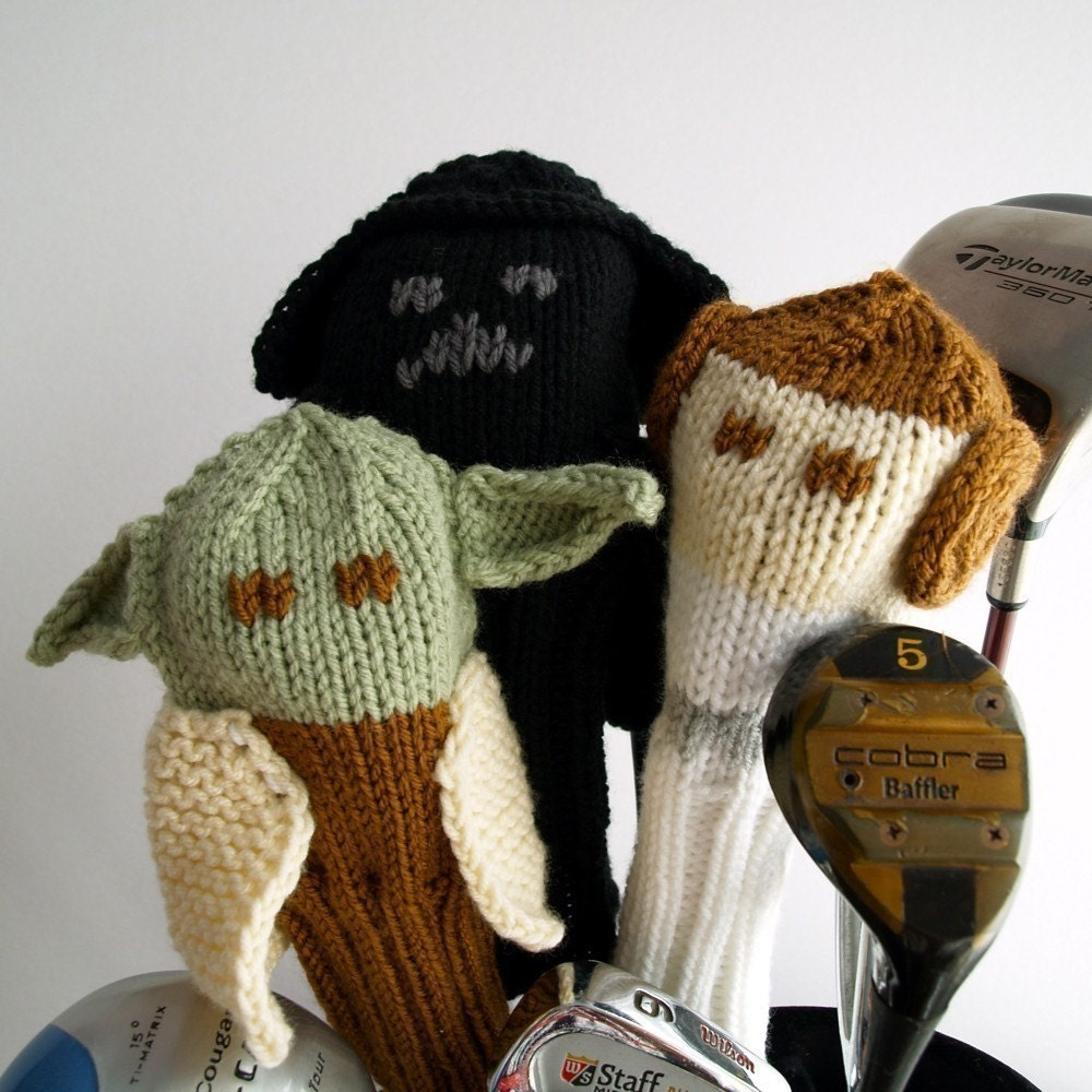 Attractive Knitting Patterns For Golf Club Headcovers Image ...