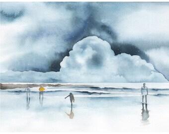 Surf 11x14 Print