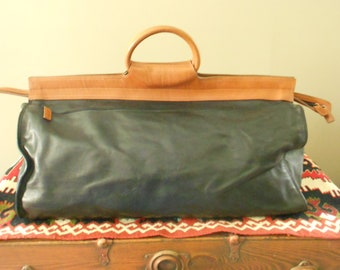 Travel Bag / Leather Duffle Bag / Hugh Weekender Bag / Overnight Bag