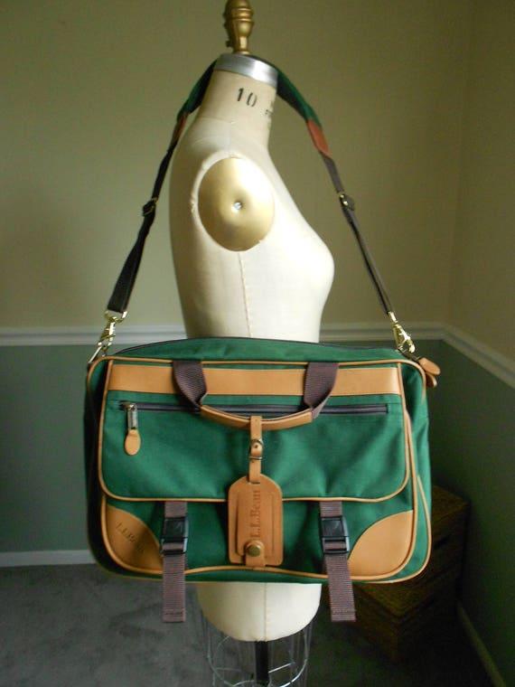 Groovy Ll Bean Green Cnavas Bag Travel Bag Overnight Bag Sale Unemploymentrelief Wooden Chair Designs For Living Room Unemploymentrelieforg