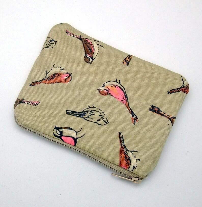 Bird padded ZS-242 Zipper pouch  coin purse  card bag
