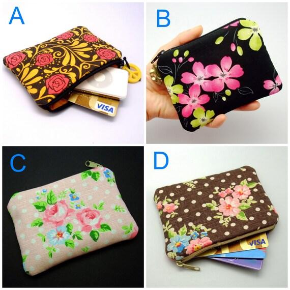 GRANDE VENTE - petit sac-pochette / porte monnaie / oreille sac de téléphone / titulaire de la carte (rembourré) (GP1)