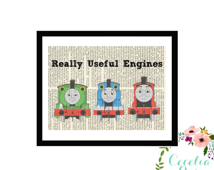 Thomas The Train Really Useful Engines Engine Percy James