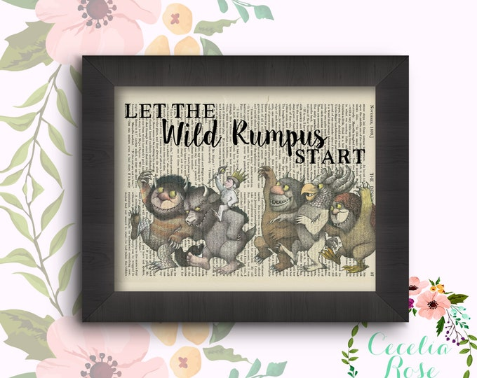 Let The Wild Rumpus Start