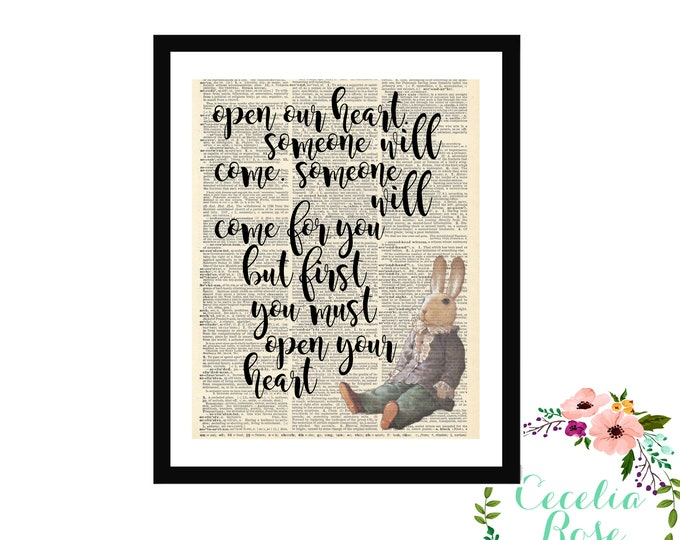 Open Your Heart Someone Will Come Edward Tulane