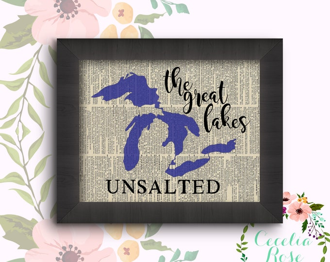 The Great Lakes - Unsalted