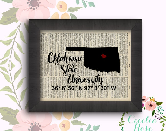 Oklahoma State University - Latitude and Longitude