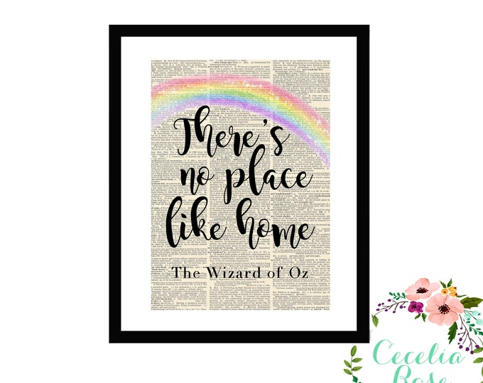 There's No Place Like Home -Wizard Of Oz-