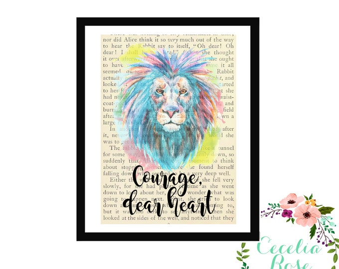 Courage Dear Heart Chronicles of Narnia The Voyage of the Dawn Treader C. S. Lewis