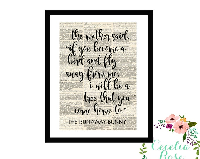 The Runaway Bunny - If You Become A Bird I Will Be A Tree That You Come Home To