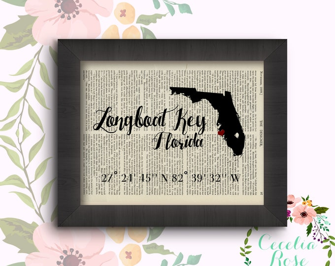 Longboat Key, Florida - Latitude and Longitude