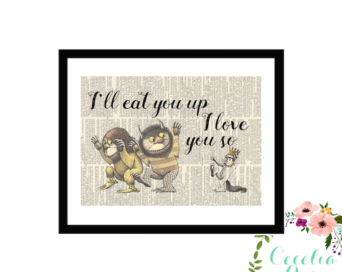 I'll Eat You Up I Love You So - Where The Wild Things Are