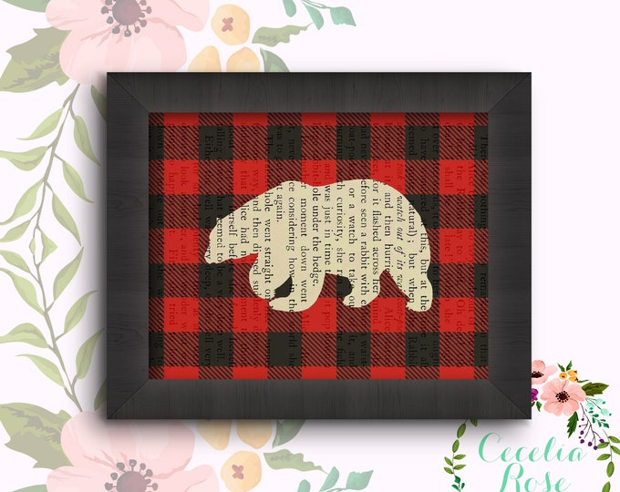 Polar Bear Buffalo Plaid