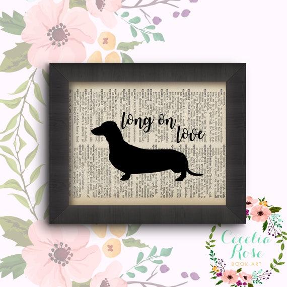 Long on Love - Dachshund - Weiner Dog