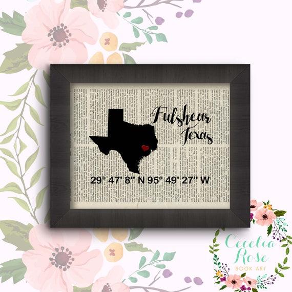 Fulshear, Texas - Latitude and Longitude
