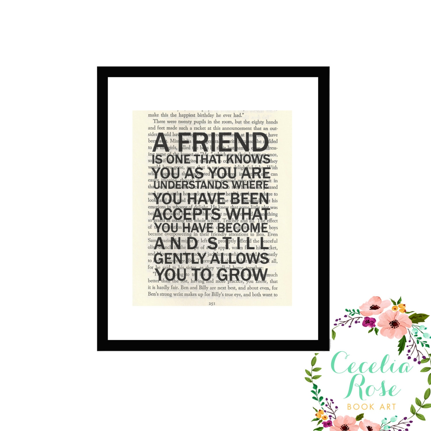 A Friend Is One That Knows You As You Are Book Art William Shakespeare
