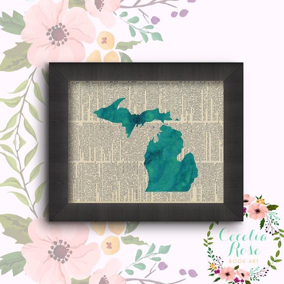 Michigan - Watercolor
