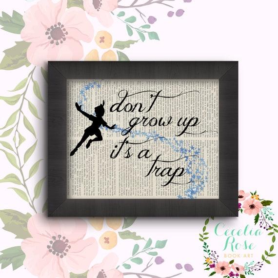Don't Grow Up, It's A Trap - Peter Pan