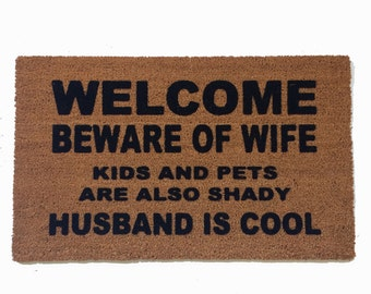 every home needs a doormat make yours damn by damngooddoormats. Black Bedroom Furniture Sets. Home Design Ideas