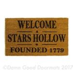 Stars Hollow Gilmore Girls Lorelai Rory doormat doormatt new house housewarming gift