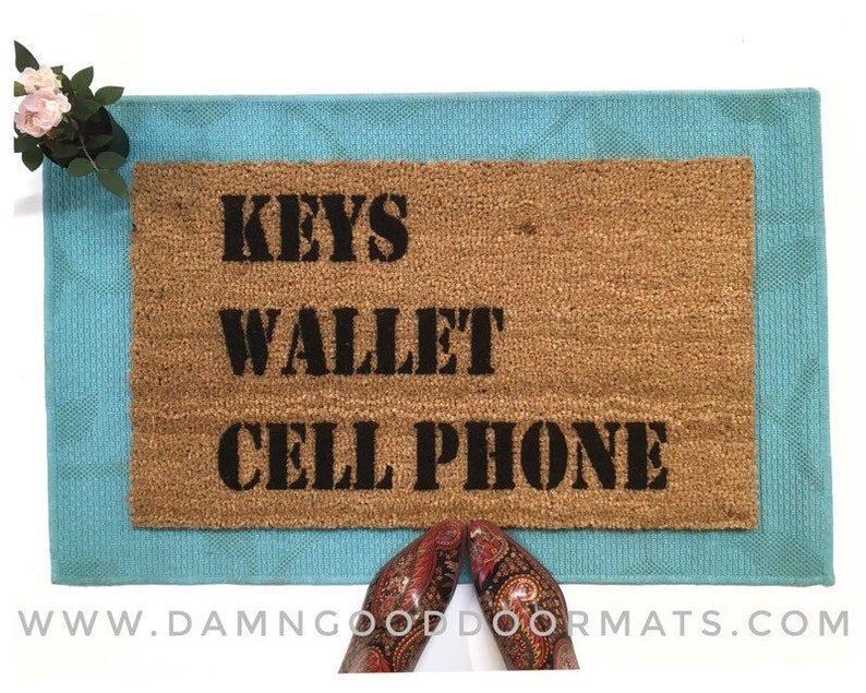 KEYS Wallet CELL Phone™  reminder The worlds most useful M 18x30x .59""
