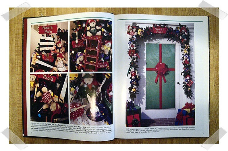 Hardcover Craft Book1992* The Spirit of Christmasnumber 7