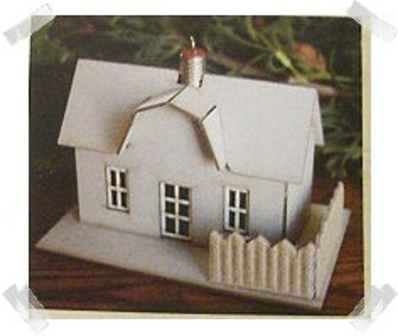 Ornament House Kit Craft Supplies*