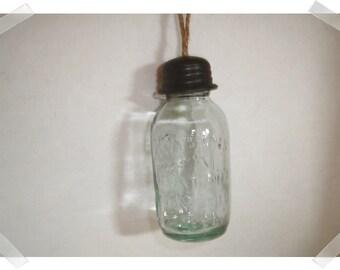 Glass Mason Jar Ornament/Single/ Home Decor/Supplies*