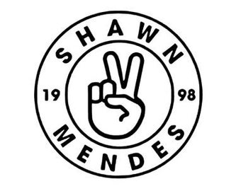 Shawn Mendes Army Fandom vinyl decal for mug Yeti locker laptop or any smooth surface.
