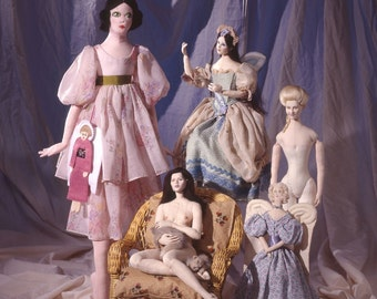 Cloth Dollmaking Book by Antonette Cely