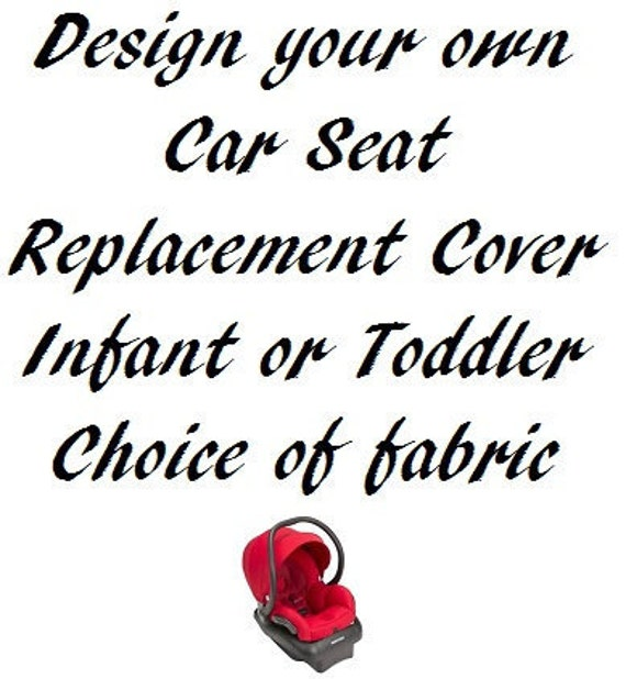 Custom Car Seat Cover Design Your Own Etsy