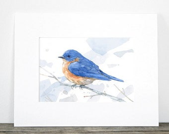 Bird Watercolor Art