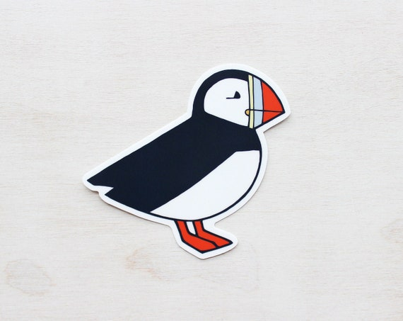 STICKERS collection of 3 birds waterproof and resistant vinyl stickers animal illustration
