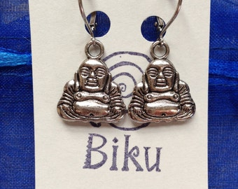 Buddha's Wisdom Dangle Earrings