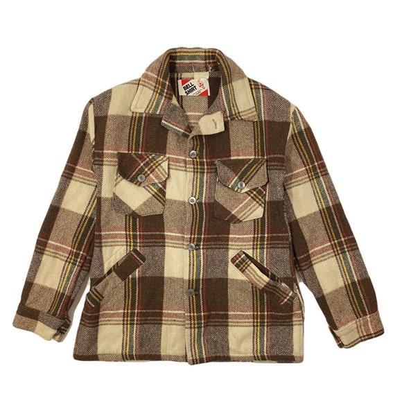 1970s Wool Bell Shirt Jacket
