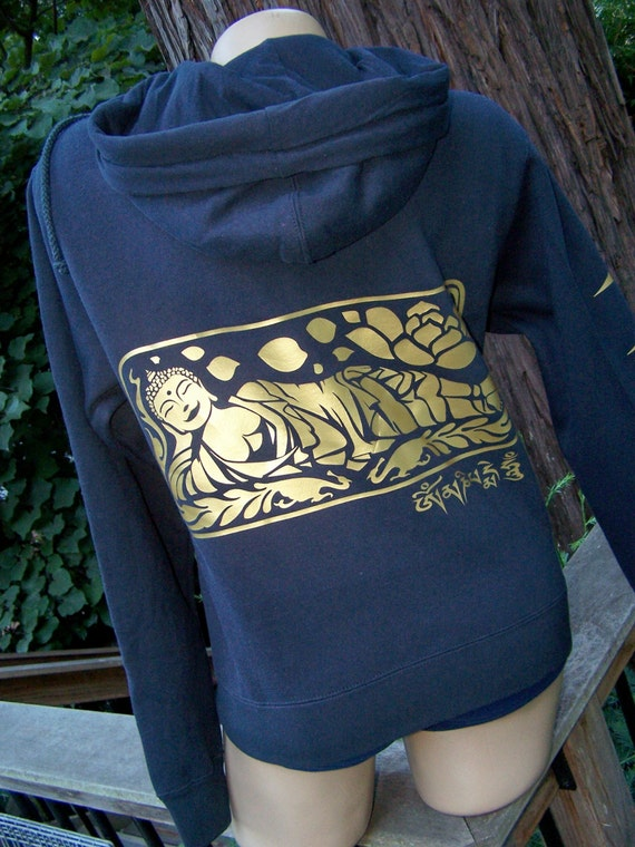 Golden Buddha Sweatshirt  FREE SHIPPING