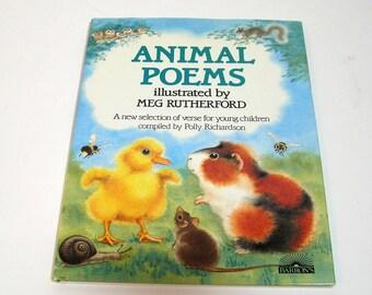 animal poems etsy