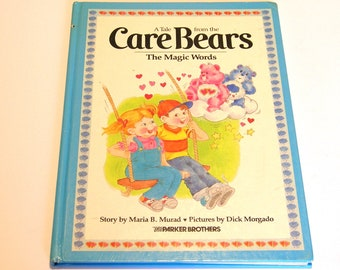 Care Bears The Magic Words Vintage Children's Book