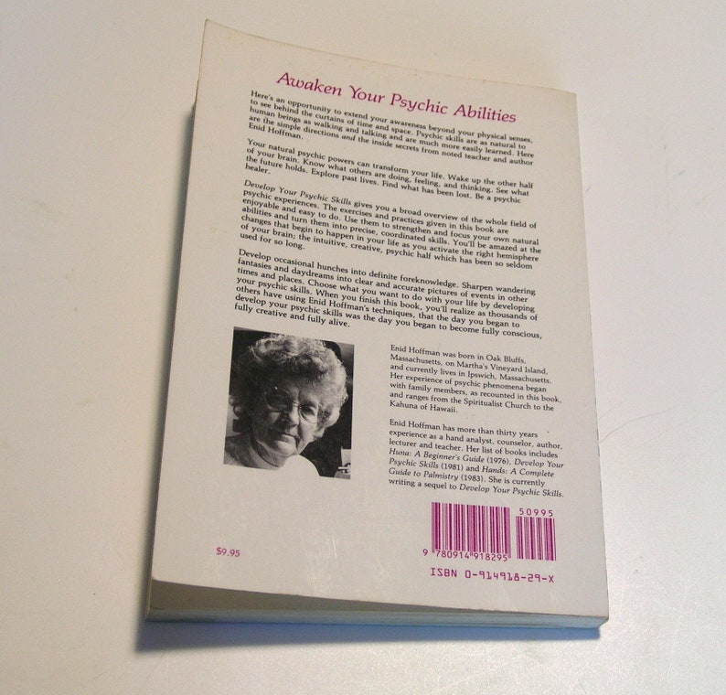 Develop Your Psychic Skills by Enid Hoffman