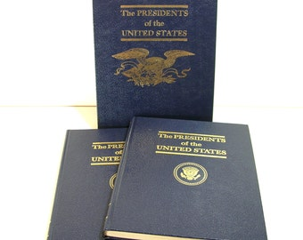 The Presidents of the United States, A A Gache & Son, Two Volume Boxed Set
