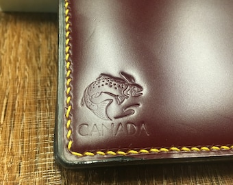 Shinki Hikaku Shell Cordovan and Tochigi Leather Wallet,  #wallet #buttero #bifoldwallet  #handstitched #shinkihikaku #menswallet  #cordovan
