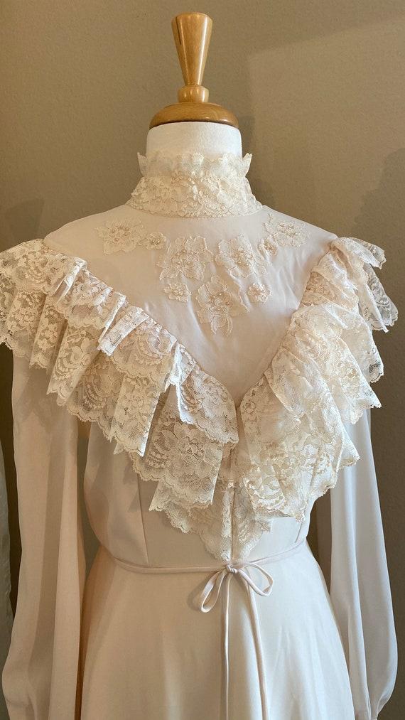 Vintage wedding gown, custom made wedding gown, ru