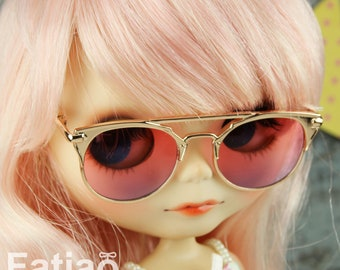 07e660797a668 New Dolls fashion Hipster Sunglasses Glasses for Blythe