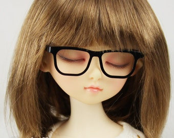 New fashion Full-Rim Dolls Glasses fit 1/4 BJD MSD mini Super Dollfie Black